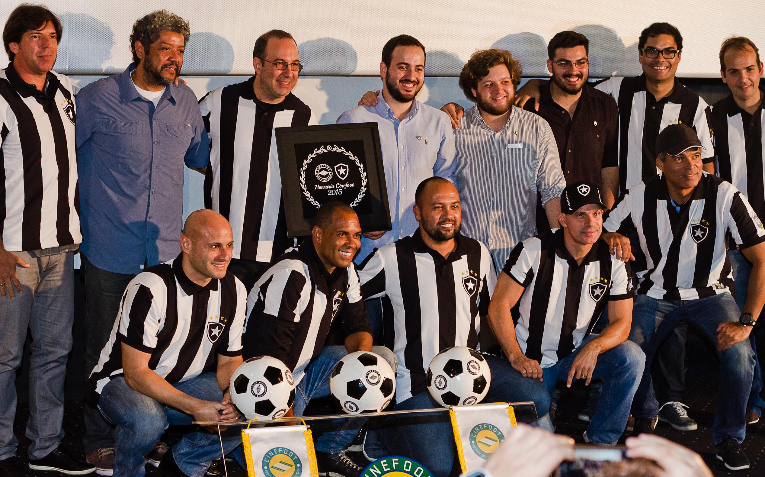 Cinefoot 2015 homenagem Botafogo